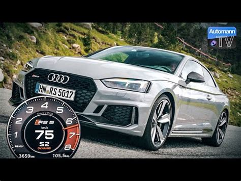 Audi Rs5 0 100 by 2018 Audi Rs5 450hp 0 100 Km H Launch 60fps