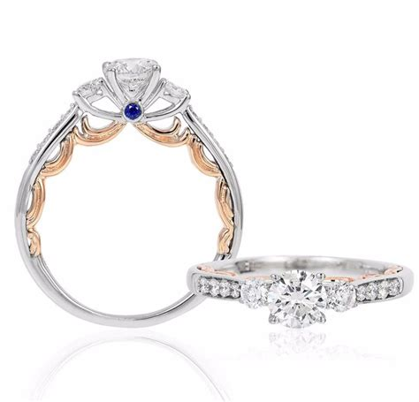 Kalung Mawar Enchanted Endless And The Beast Necklace disney princess inspired wedding ideas