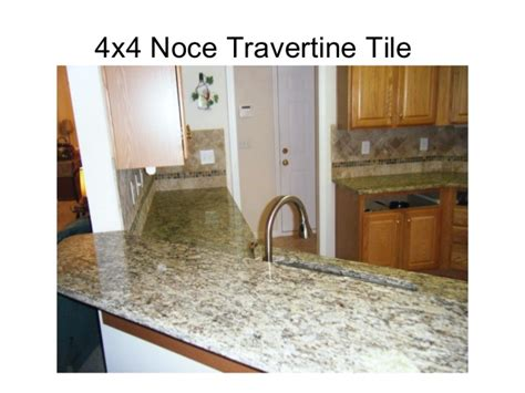 noce travertine tile backsplash 4x4 noce travertine tile backsplash designs for kitchens