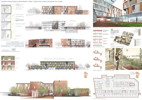 tavole di concorso architettura concorso internazionale di progettazione