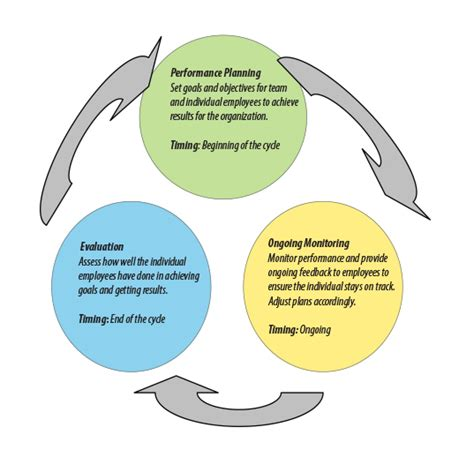 performance appraisal diagram performance management cycle diagram pictures to pin on
