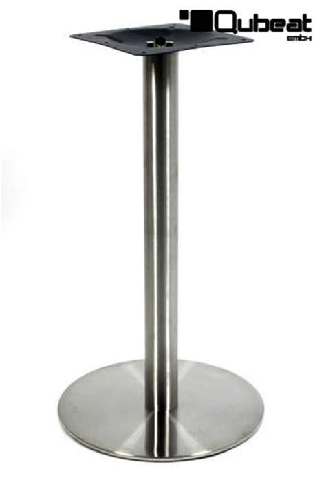 edelstahl dortmund tischgestell 105 cm tischfu 223 edelstahl gestell runder