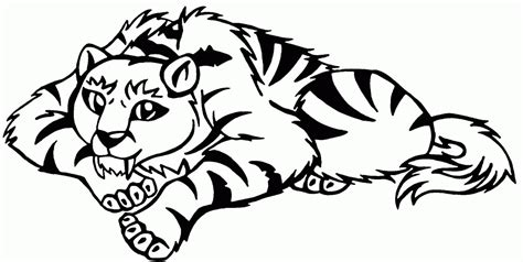 Coloring Pages Of Baby Tigers by Coloring Pages Of Baby Tigers Coloring Home