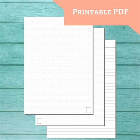 printable lined paper a5 printable a5 paper gray dot grid lined ruling
