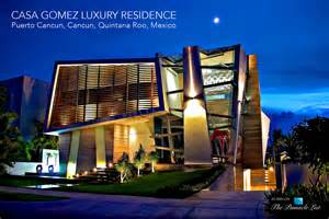 Luxury Lighting Design - casa gomez luxury residence puerto cancun cancun quintana roo mexico the list