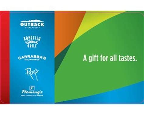 Where Can Outback Gift Cards Be Used - related keywords suggestions for outback steakhouse gift card