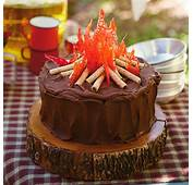 Campfire Cake Recipe  Hallmark Ideas &amp Inspiration