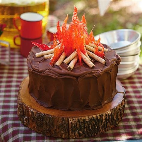Campfire Cake Recipe   Hallmark Ideas & Inspiration