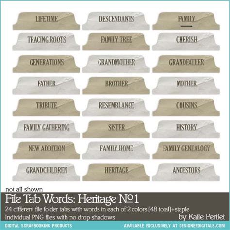 file tab words heritage no 01 katie pertiet elements