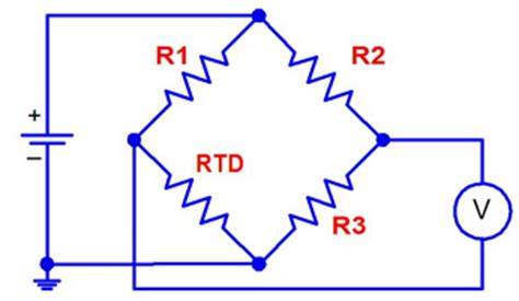 wheatstone bridge rtd exle designing with rtd temperature sensors