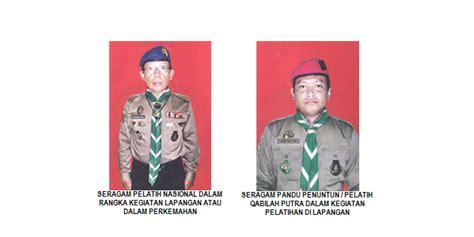Badge Lengan Kwartir Wilayah penempatan atribut pada seragam hw kedai hizbul wathan