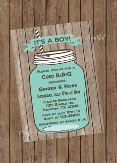 1000 Images About Rj Invites On Pinterest Baby Shower Invitations Invitations And Baby Showers Jar Baby Shower Invitation Template