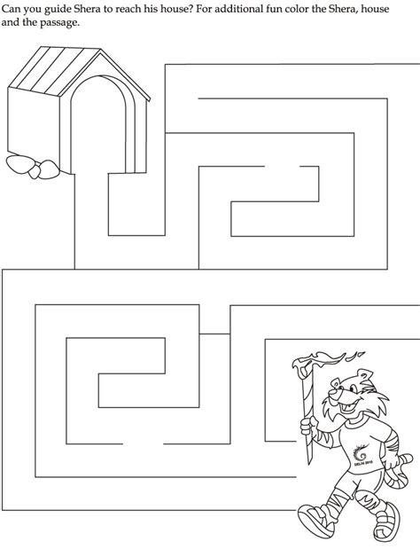 printable preschool worksheets mazes kindergarten maze worksheets commonwealth games mazes