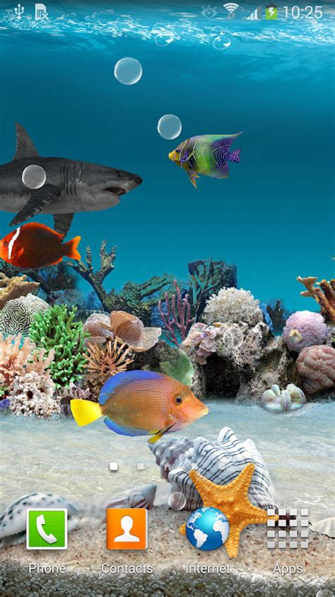3d live fish wallpaper for pc 3d aquarium live wallpaper android apps on google play