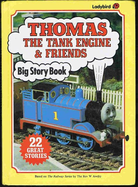 The Big Story the tank engine friends big story book ladybird