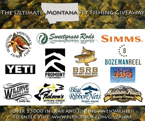 Fly Fishing Giveaway - the ultimate montana fly fishing giveaway