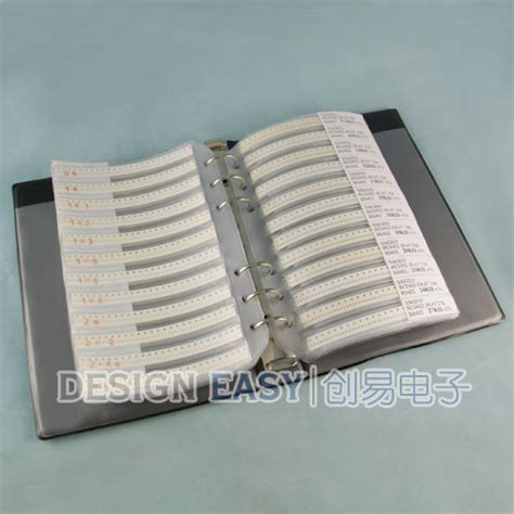 digikey 0402 resistor kit 0402 smd resistor kit 170valuesx48pcs smt pack box book ebay
