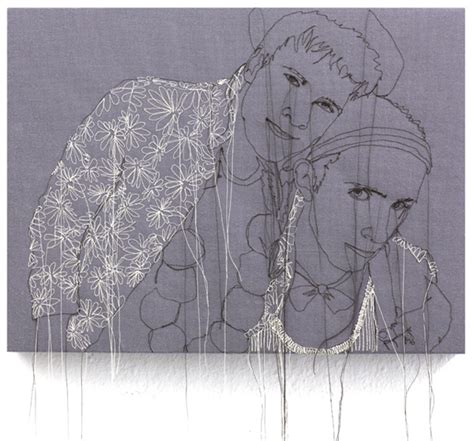 embroidered illustrations  nike schroeder colossal
