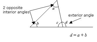 Exterior And Interior Angles Of A Triangle Worksheet by Exterior Angles Of A Triangle Solutions Exles