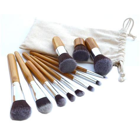 Kuas Makeup Kuas Kosmetik Makeup Brush Pouch Bag 7 Pcs cosmetic make up brush 11 set with pouch kuas make up jakartanotebook