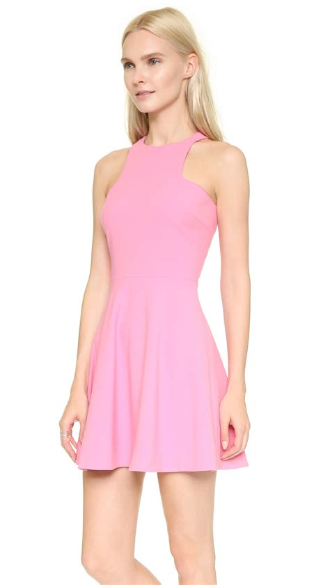 Clarisha Dress elizabeth and clarissa dress white in purple lyst