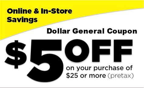 family dollar new coupons home decor savings ftm 5 off 25 dollar general coupon