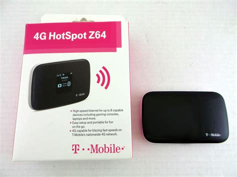 Wifi Hotspot Speedy t mobile 4g hotspot zte mf64 high speed wifi up to 8 capable devices ebay