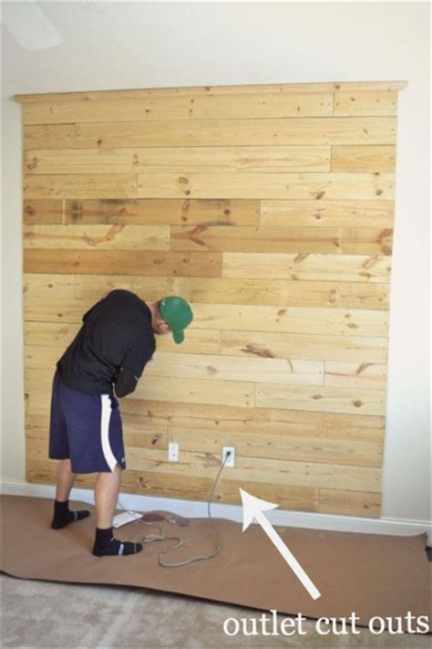 making a headboard out of pallets how to make pallet headboard on wall