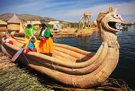 lade galleggianti floating made islands on lake titicaca