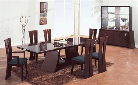 modern dining room table chairs modern dining room table