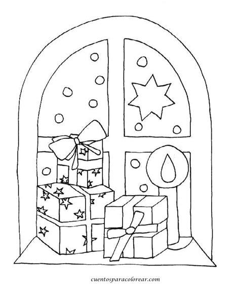 imagenes para pintar navidad para niños dibujos para colorear regalos navide 241 os