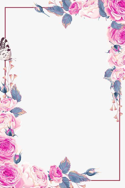 pin sherry stephan fiori carta floral border