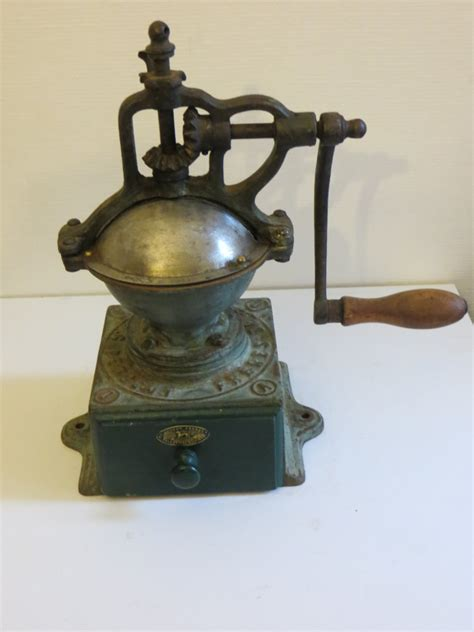 peugeot coffee grinder antique peugeot coffee grinder a0 industrial decor