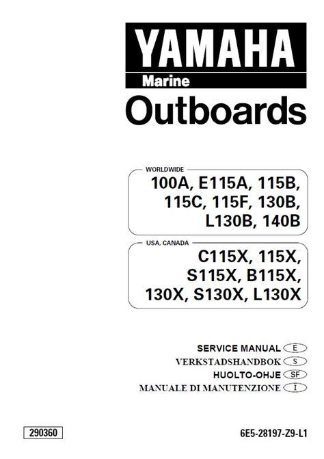 yamaha outboard motor service manual yamaha marine outboards service manual pdf