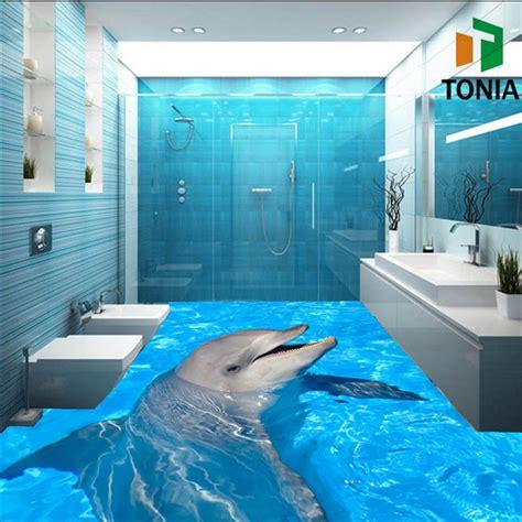 3d floor 3d printing floor tile bathroom supplier building