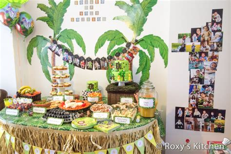 jungle theme birthday decorations safari jungle themed birthday part iii diy