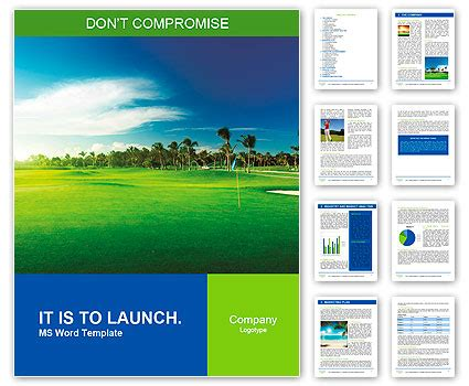 golf templates for word golf course word template design id 0000010057