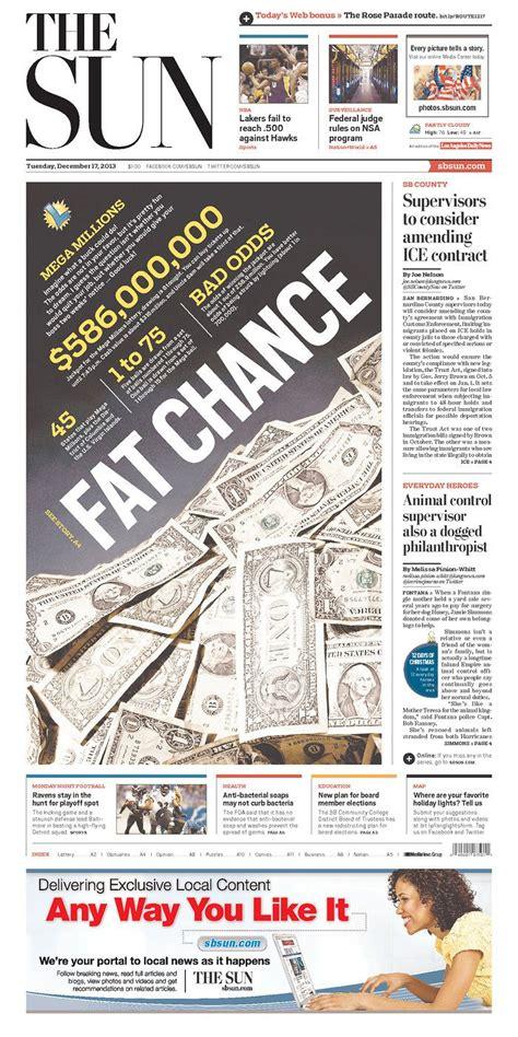 newspaper layout critique fat chance graphicdesign newspaper design newspaper
