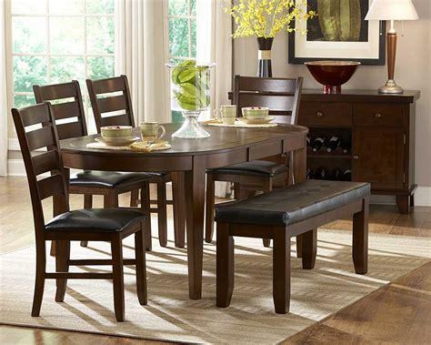 cherry wood esszimmer sets homelegance ameillia oval dining set d586 76 set at