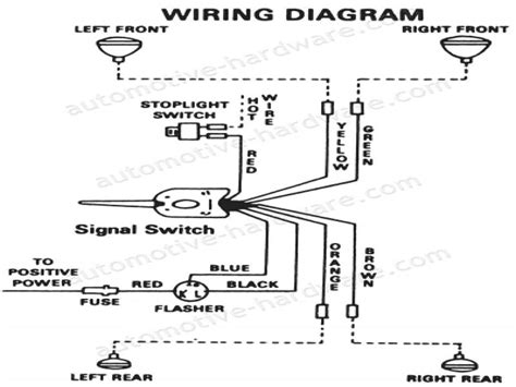 grote universal turn signal wiring diagram wiring forums