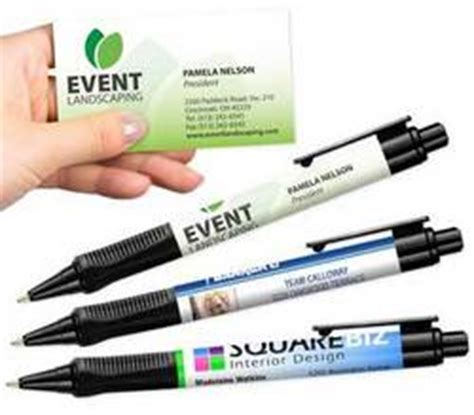 Business Cards And Pens
