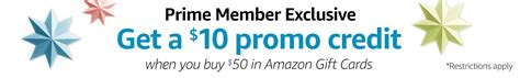 Can You Buy Gift Cards With Amazon Credit - free 10 amazon credit when you buy 50 in amazon gift cards thrifty nw mom