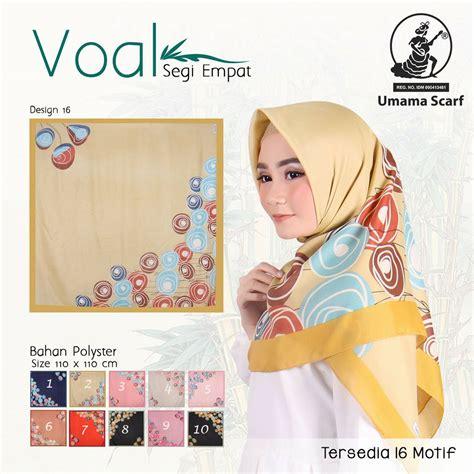 Umama Scarf 16 segiempat voal umama 16 sentral grosir jilbab kerudung i supplier jilbab i retail grosir