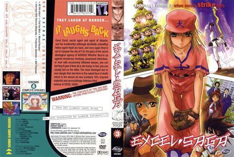 saga vol 3 excel saga vol 3 dvd scanned covers 1124excel