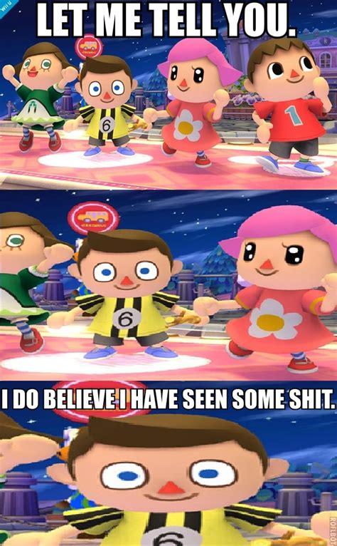 Smash Bros Memes - villager meme memes
