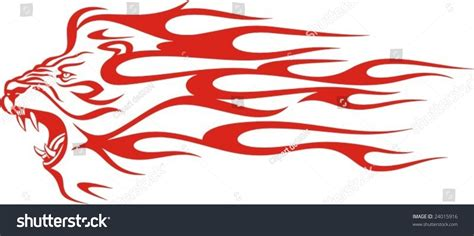 Car Design Sticker Vector Graphics by Flaming Lion Vector Illustration Great Vehicle Stock