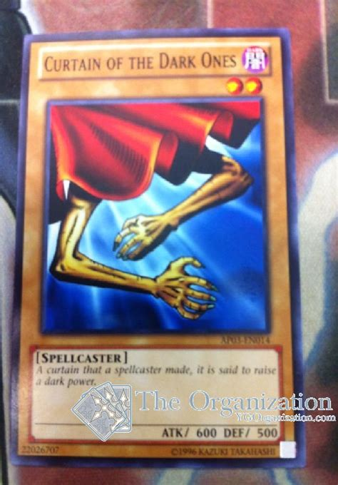 Yugioh Curtain Of The Ones Ap03 En014 Common the organization astral pack 3 set list
