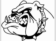 Design Your Own Decal – Popular Decals - Bull Dawg vinyl ... Georgia Bulldog Clipart Logo
