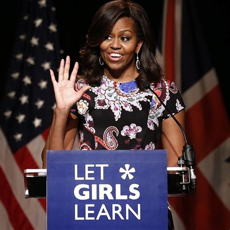 michelle obama in london michelle obama promotes global education drive for girls