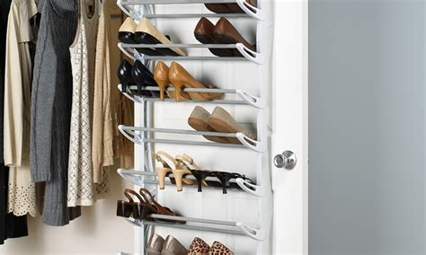 Whitmor 36 Pair The Door Shoe Rack Shopko 36 Pair The Door Shoe Rack Groupon Goods